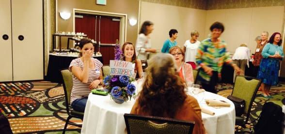 AAUW St G - New Members welcome at Sept. Lunch